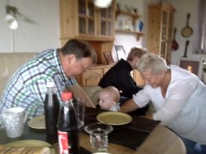 farmor og farfar samt Alexander
